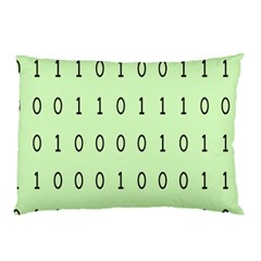 Code Number One Zero Pillow Case by Mariart