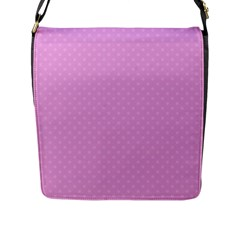 Dots Flap Messenger Bag (l)