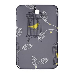 Cagr Bird Leaf Grey Yellow Samsung Galaxy Note 8 0 N5100 Hardshell Case  by Mariart