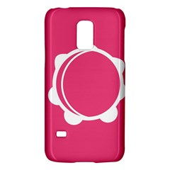 Circle White Pink Galaxy S5 Mini by Mariart