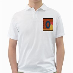 Digital Music Is Described Sound Waves Golf Shirts by Mariart