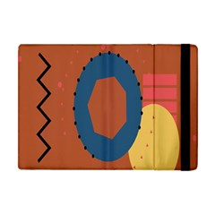 Digital Music Is Described Sound Waves Apple Ipad Mini Flip Case by Mariart
