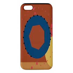 Digital Music Is Described Sound Waves Iphone 5s/ Se Premium Hardshell Case by Mariart