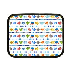 Coral Reef Fish Coral Star Netbook Case (small)  by Mariart
