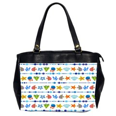 Coral Reef Fish Coral Star Office Handbags (2 Sides)