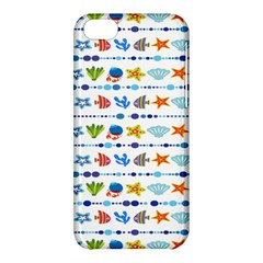Coral Reef Fish Coral Star Apple Iphone 5c Hardshell Case by Mariart