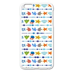 Coral Reef Fish Coral Star Apple Iphone 6 Plus/6s Plus Enamel White Case by Mariart