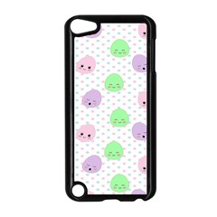 Egg Easter Smile Face Cute Babby Kids Dot Polka Rainbow Apple Ipod Touch 5 Case (black) by Mariart