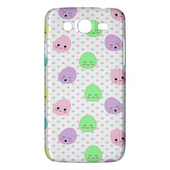 Egg Easter Smile Face Cute Babby Kids Dot Polka Rainbow Samsung Galaxy Mega 5 8 I9152 Hardshell Case  by Mariart