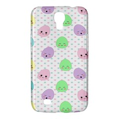 Egg Easter Smile Face Cute Babby Kids Dot Polka Rainbow Samsung Galaxy Mega 6 3  I9200 Hardshell Case by Mariart