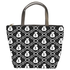 Dollar Money Bag Bucket Bags by Mariart