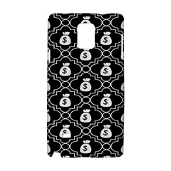 Dollar Money Bag Samsung Galaxy Note 4 Hardshell Case by Mariart