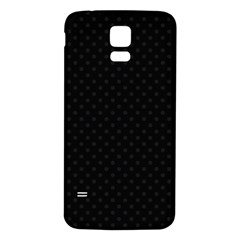 Dots Samsung Galaxy S5 Back Case (white)