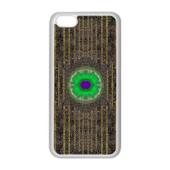 In The Stars And Pearls Is A Flower Apple Iphone 5c Seamless Case (white) by pepitasart