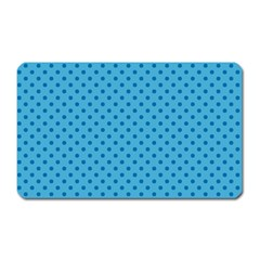 Dots Magnet (rectangular) by Valentinaart