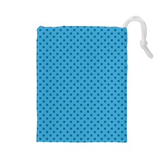 Dots Drawstring Pouches (large)