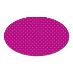 Dots Oval Magnet by Valentinaart