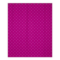 Dots Shower Curtain 60  X 72  (medium)  by Valentinaart