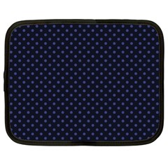 Dots Netbook Case (xl)  by Valentinaart