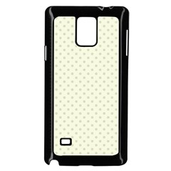 Dots Samsung Galaxy Note 4 Case (black) by Valentinaart