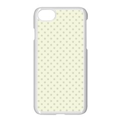 Dots Apple Iphone 7 Seamless Case (white) by Valentinaart