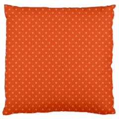 Dots Large Cushion Case (two Sides) by Valentinaart