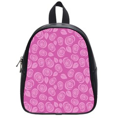 Floral Pattern School Bags (small)  by Valentinaart