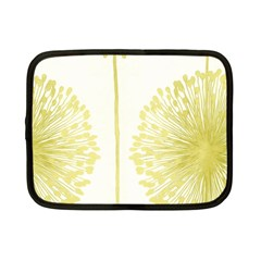 Flower Floral Yellow Netbook Case (small)  by Mariart