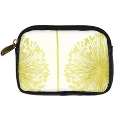 Flower Floral Yellow Digital Camera Cases