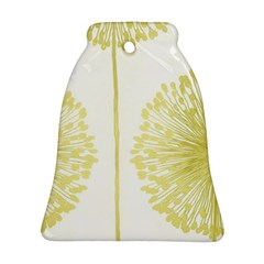 Flower Floral Yellow Bell Ornament (two Sides) by Mariart