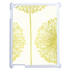 Flower Floral Yellow Apple Ipad 2 Case (white) by Mariart