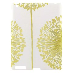 Flower Floral Yellow Apple Ipad 3/4 Hardshell Case by Mariart