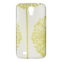 Flower Floral Yellow Samsung Galaxy Mega 6 3  I9200 Hardshell Case