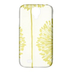 Flower Floral Yellow Samsung Galaxy S4 Classic Hardshell Case (pc+silicone) by Mariart