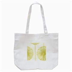 Flower Floral Yellow Tote Bag (white) by Mariart