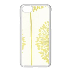 Flower Floral Yellow Apple Iphone 7 Seamless Case (white) by Mariart