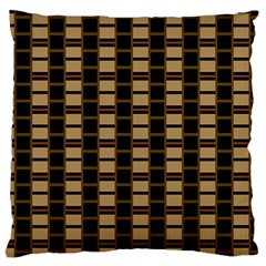 Geometric Shapes Plaid Line Large Cushion Case (two Sides) by Mariart