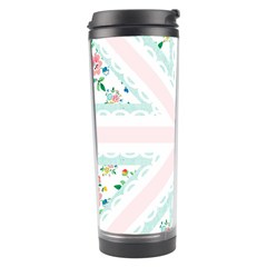 Frame Flower Floral Sunflower Line Travel Tumbler by Mariart