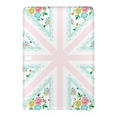 Frame Flower Floral Sunflower Line Samsung Galaxy Tab Pro 10 1 Hardshell Case by Mariart
