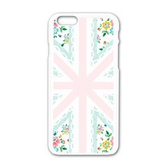 Frame Flower Floral Sunflower Line Apple Iphone 6/6s White Enamel Case by Mariart