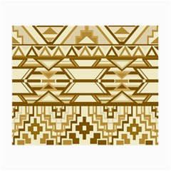 Geometric Seamless Aztec Gold Small Glasses Cloth (2 Side) by Mariart