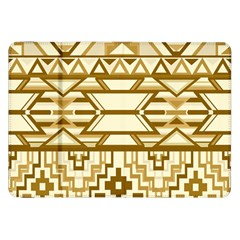 Geometric Seamless Aztec Gold Samsung Galaxy Tab 8 9  P7300 Flip Case by Mariart