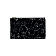 Geometry Geometry Formula Cosmetic Bag (small)  by Mariart