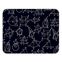 Geometry Geometry Formula Double Sided Flano Blanket (large)  by Mariart
