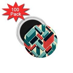 German Synth Stock Music Plaid 1 75  Magnets (100 Pack)