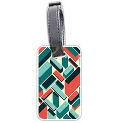 German Synth Stock Music Plaid Luggage Tags (two Sides) by Mariart