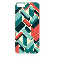 German Synth Stock Music Plaid Apple Iphone 5 Seamless Case (white) by Mariart