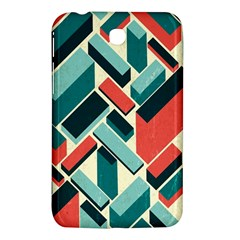 German Synth Stock Music Plaid Samsung Galaxy Tab 3 (7 ) P3200 Hardshell Case