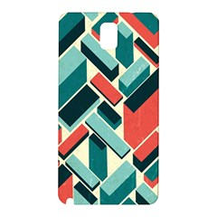 German Synth Stock Music Plaid Samsung Galaxy Note 3 N9005 Hardshell Back Case by Mariart