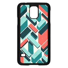 German Synth Stock Music Plaid Samsung Galaxy S5 Case (black) by Mariart
